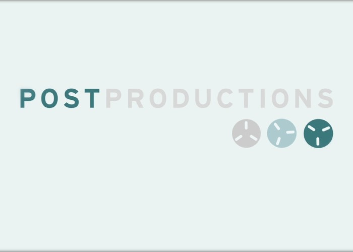 Post productions Showreel 2013