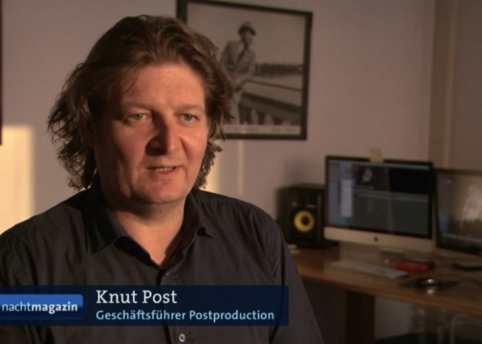 Post productions im ARD Nachtmagazin