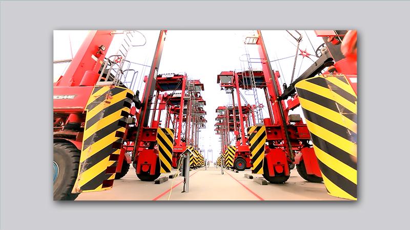 Eurogate – Containerbrückenballett