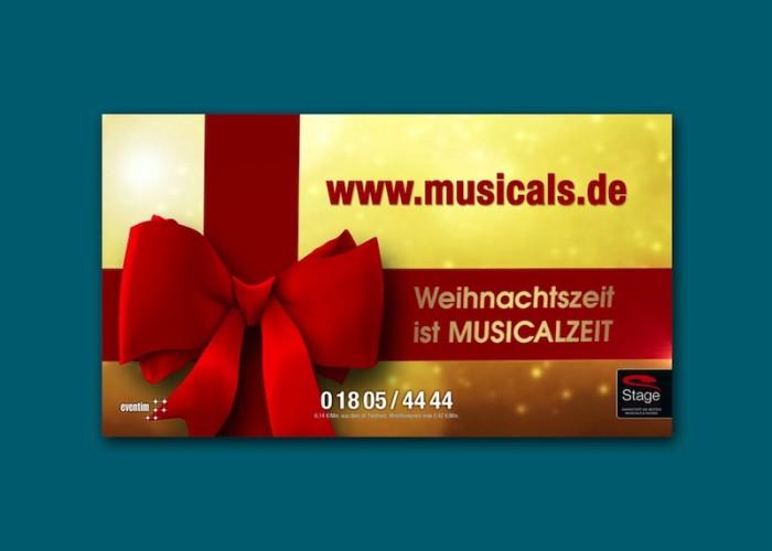 Stage Weihnachtskampagne 2014