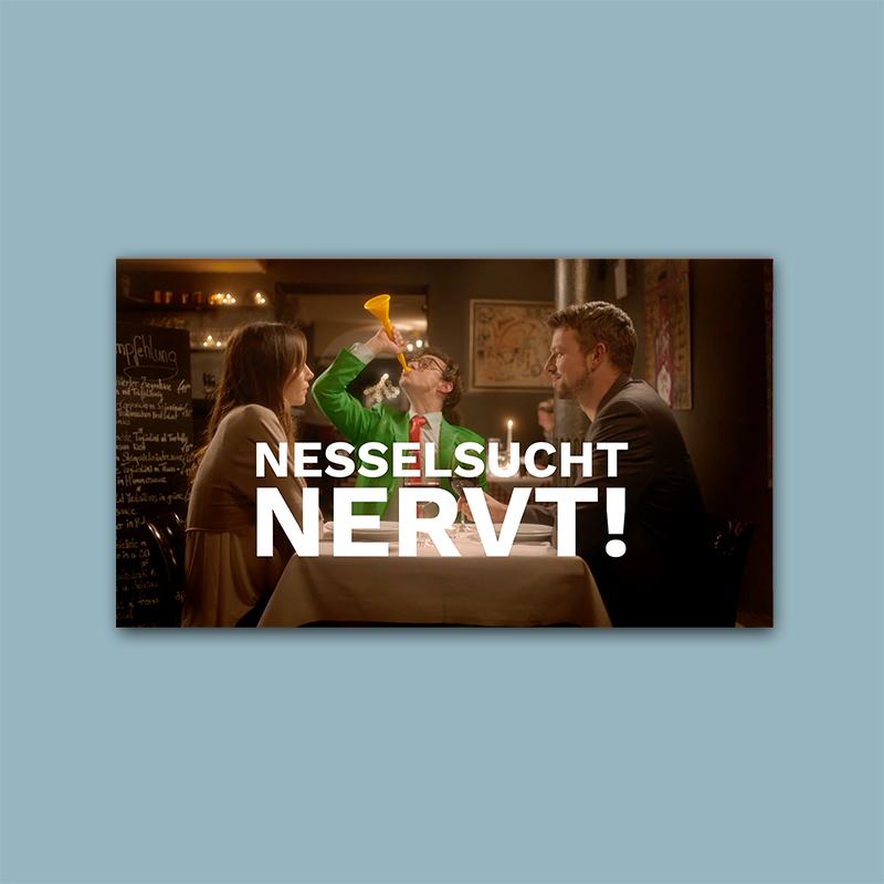 Novartis – Nesselsucht nervt!